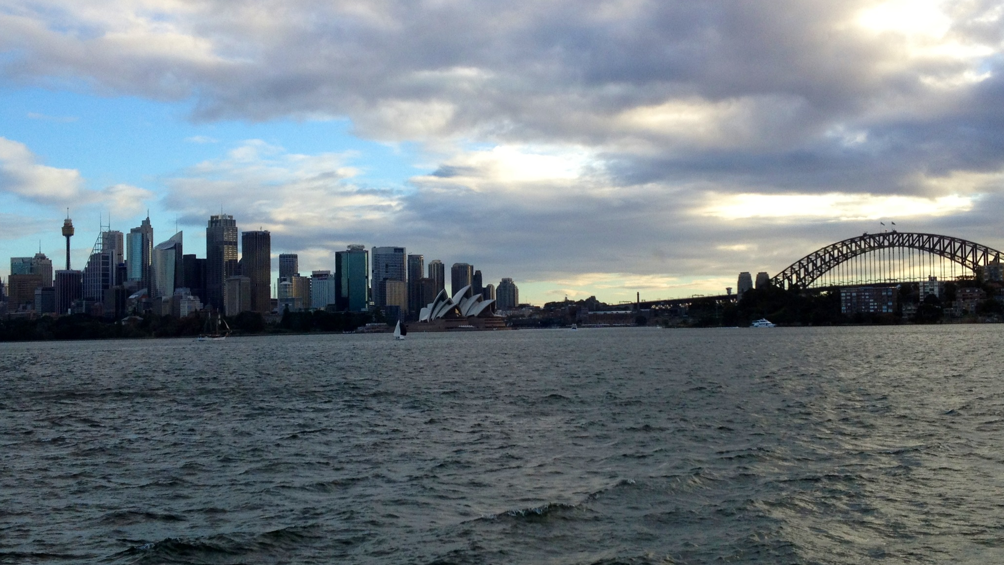 Arriving in Sydney Harbour by Ferry - © Quinn Connors