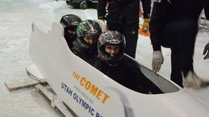 Comet Bobsled/ Courtesy Utah Olympic Park