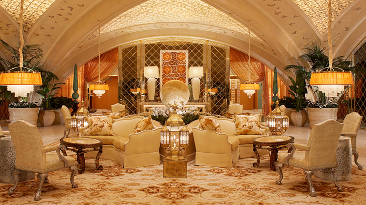 Spa at Encore. Photo: Wynn Las Vegas