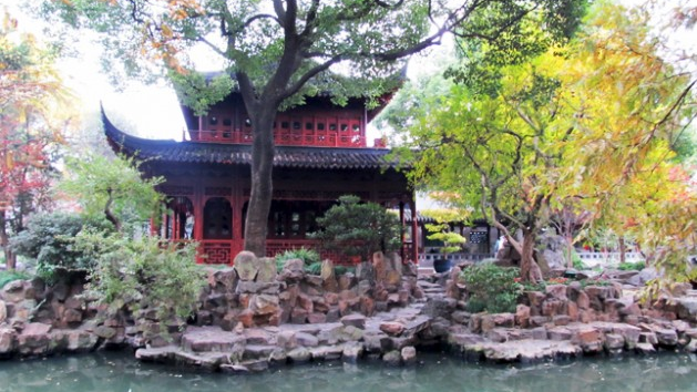 Tranquility in Shanghai