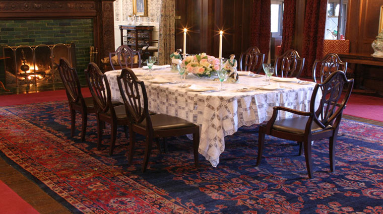 Dining Room at Blantyre, Lenox, Massachusetts
