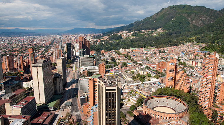 View of Bogota Center