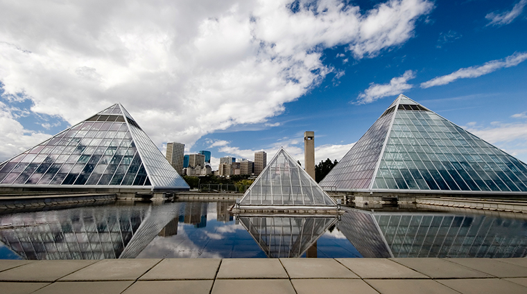 Edmonton Glass Pyramid