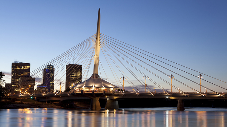 The Provencher Bridge, Winnipeg, Manitoba