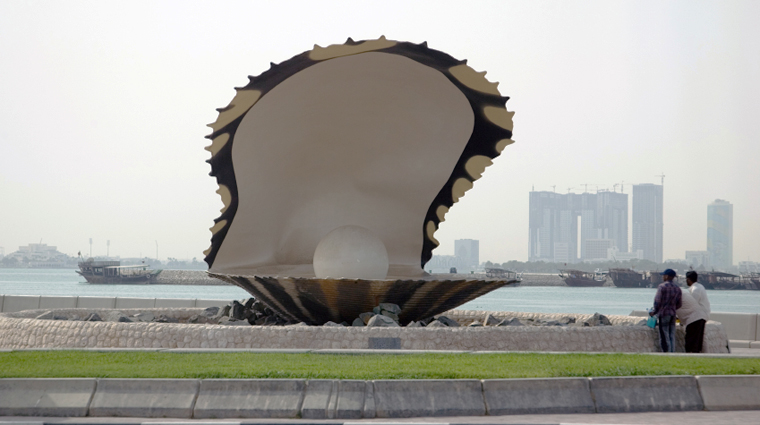Oyster Pearl on the Corniche