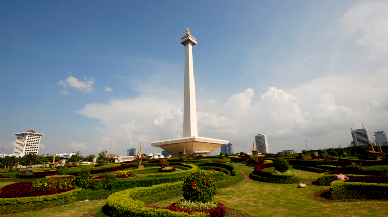 Monas National Monument, Merdeka Square