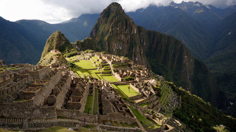 Aerial View of Lost Inca City