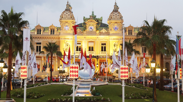 Monte Carlo Casino at Dusk