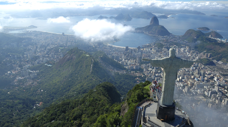 Corcovado Mountain with Cristo Redentor Statue