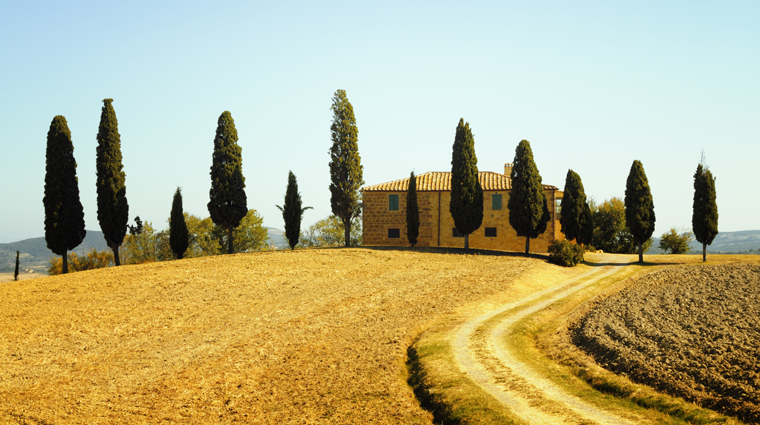 Farmhouse near San Quirico