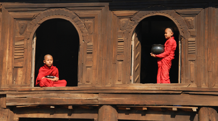 Monks in Windows