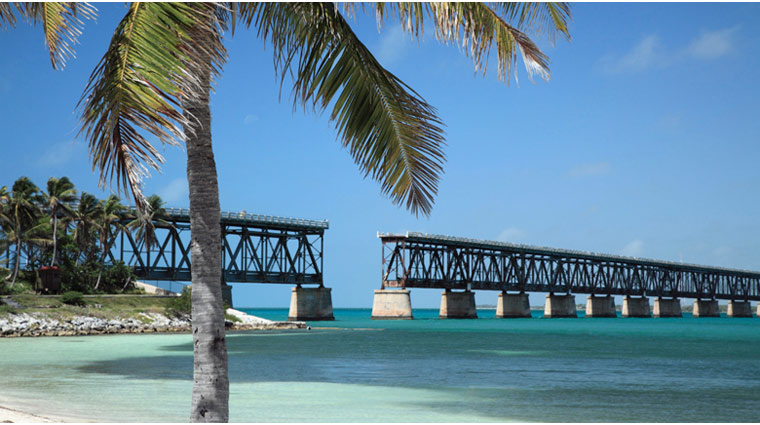The Bahia Honda Bridge