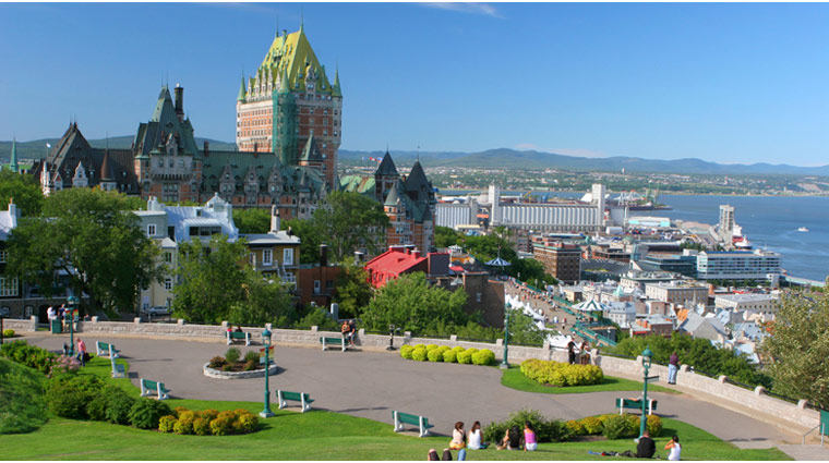Quebec City in the Summer