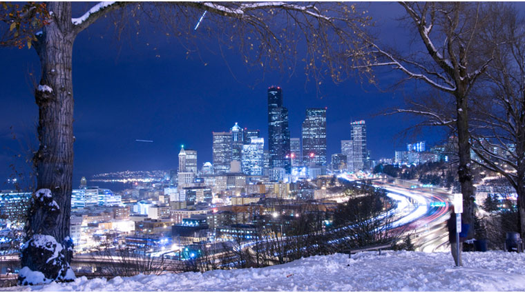 Skyline in the Winter