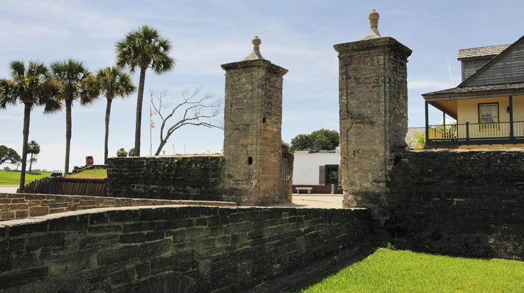 St. Augustine Old City Gates