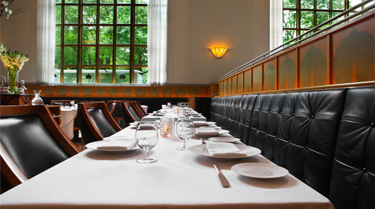 Eleven Madison Park Tables