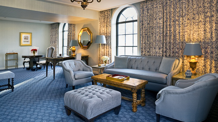 Parlor at the St. Regis Suite