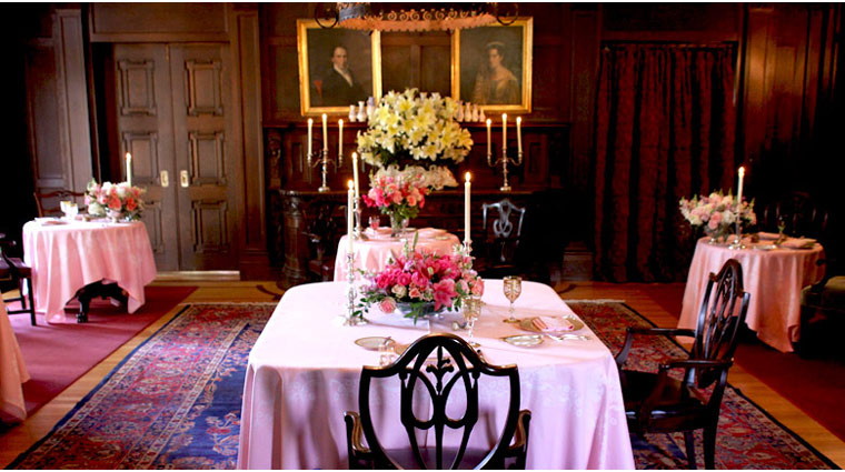 Dining Room at Blantyre Style
