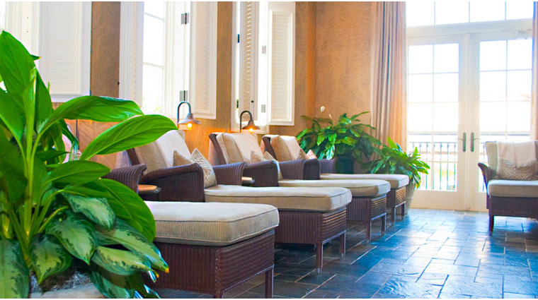 The Spa at the Sanctuary at Kiawah Relaxation Room