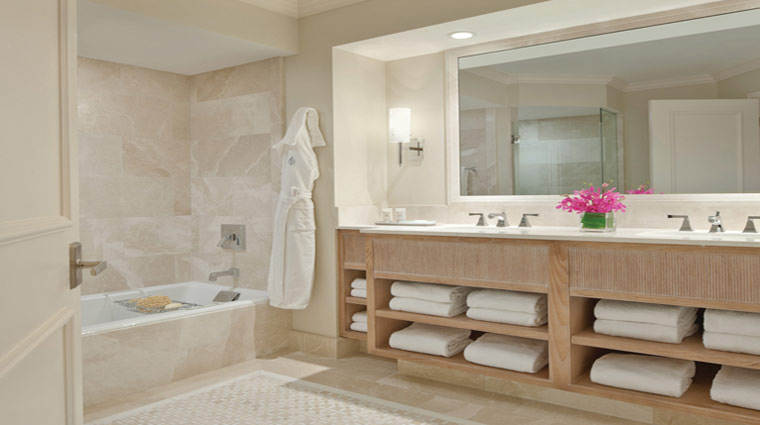 Four Seasons Resort Palm Beach Deluxe Two Bedroom Suite Bath