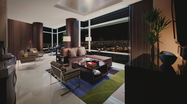 Aria Sky Suites Living Room