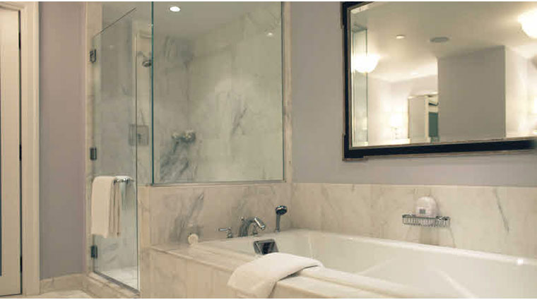 Four Seasons Hotel Boston Garden Suite Bath