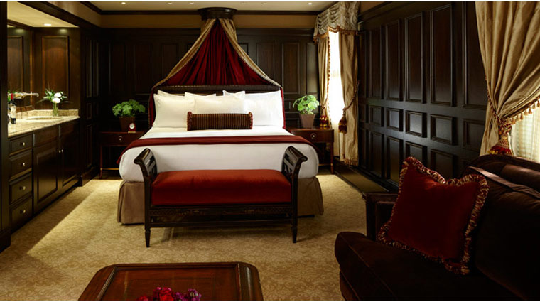 The American Club Heritage Guest Room