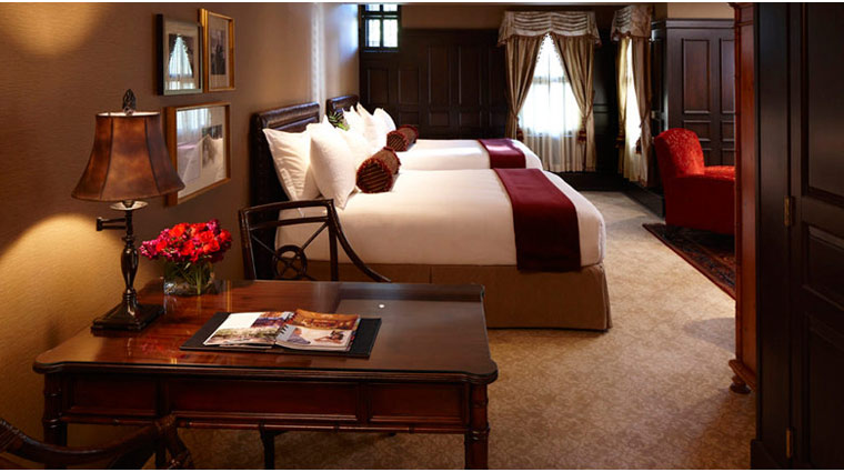 The American Club Heritage Guest Room Queen Beds