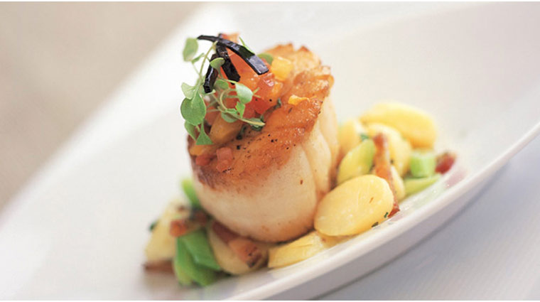 The Immigrant Restaurant Pepper Seared Atlantic Sea Scallops