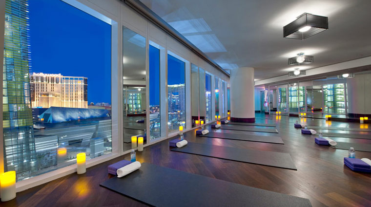 The Spa at Mandarin Oriental Las Vegas Yoga Room