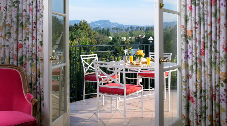 The Peninsula Hotel Beverly Hills Suite Terrace
