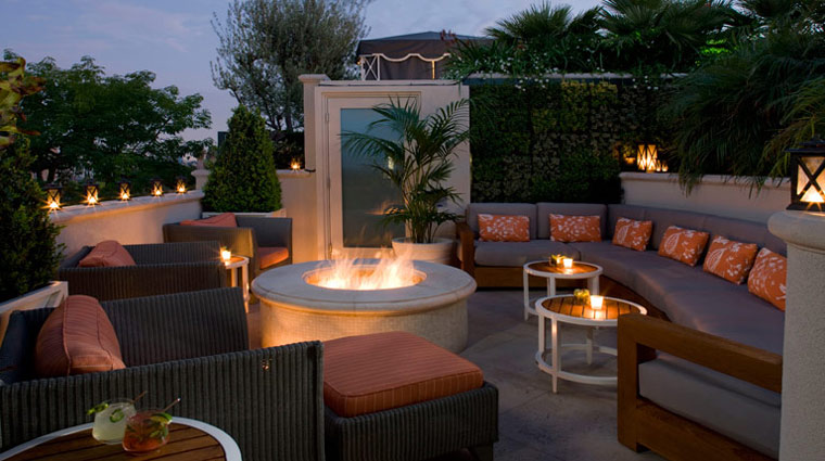 The Peninsula Hotel Beverly Hills Rooftop Garden