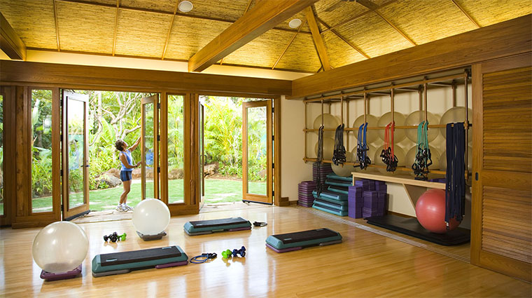 Anara Spa Yoga Studio at Grand Hyatt Kauai Resort and Spa