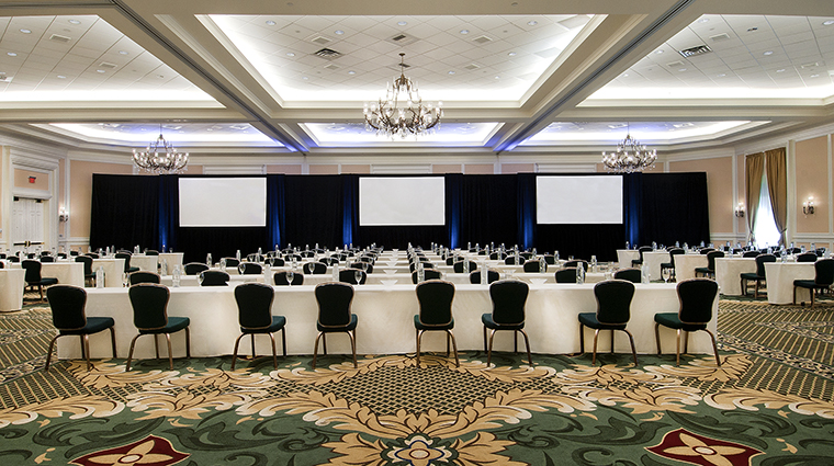 The Ballroom Meeting Set-up