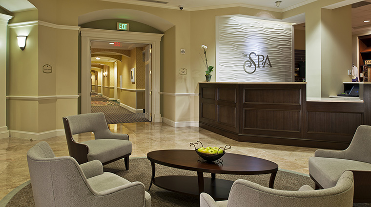 Spa Reception Area