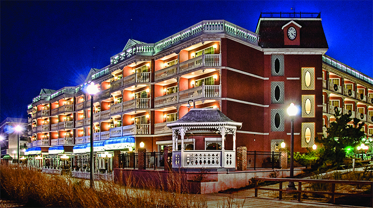 Boardwalk Plaza Hotel in Rehoboth Beach Delaware