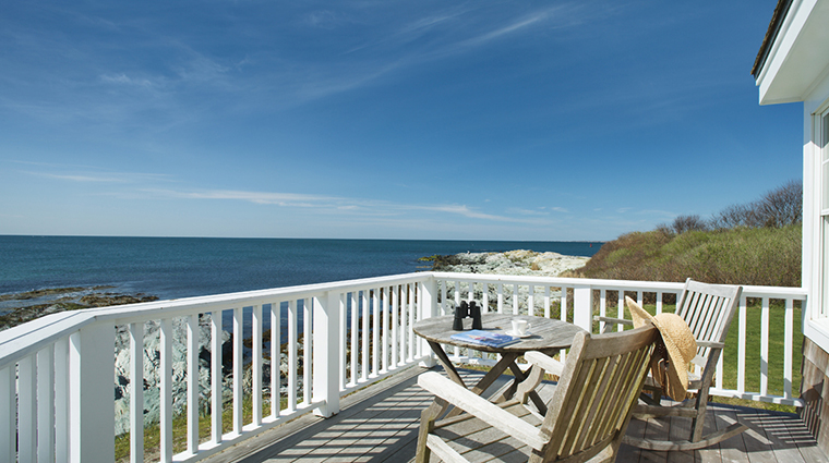 Castle Hill Inn Superior Beach House Deck with Atlantic Ocean Views