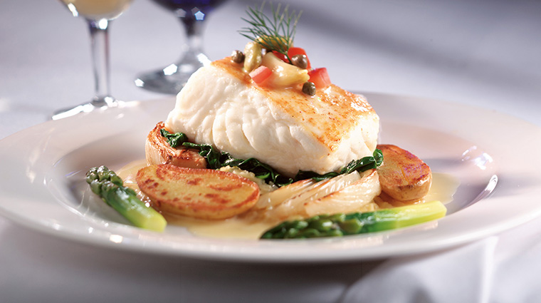 Chandlers Prime Steaks & Fine Seafood Halibut
