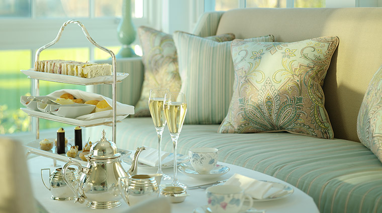 Champagne and Afternoon Tea