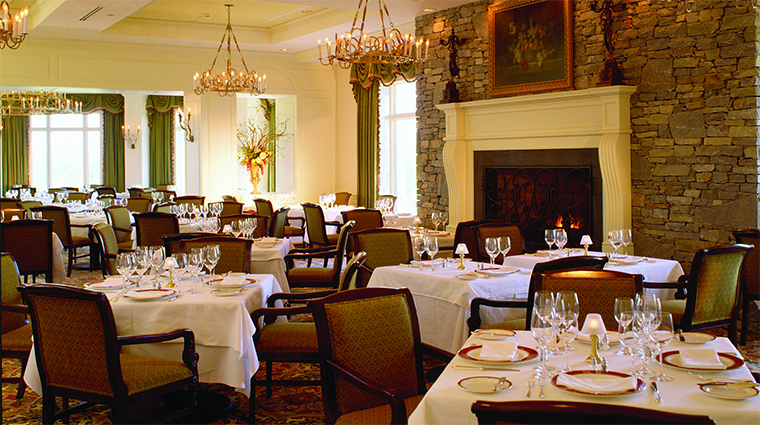 Dining Room at Inn on Biltmore Estate, Asheville, North Carolina