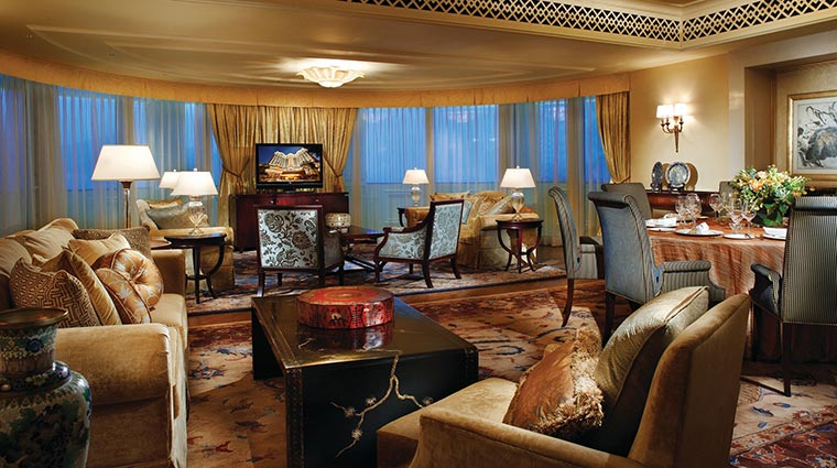 Four Seasons Hotel Macao, Cotai Strip Presidential Suite Living Room