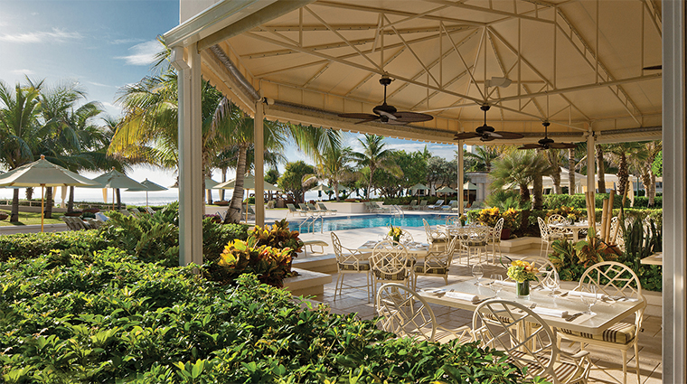 Four Seasons Resort Palm Beach Graze Poolside Dining
