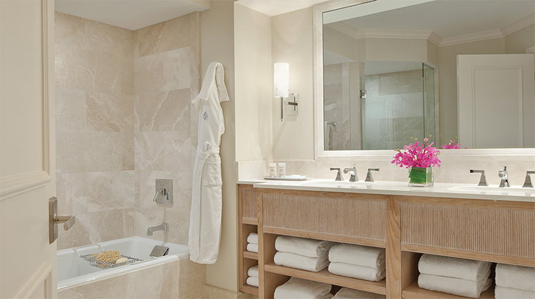 Four Seasons Resort Palm Beach Suite Bathroom