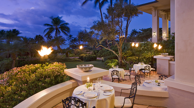 Grand Hyatt Kauai Resort and Spa Dondero's Al Fresco Dining
