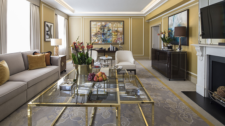 Royal Mayfair Suite Living Area