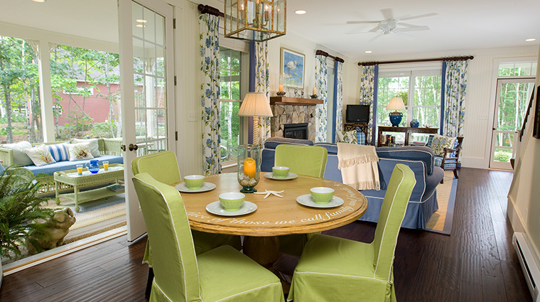 Cottage Living & Dining Area