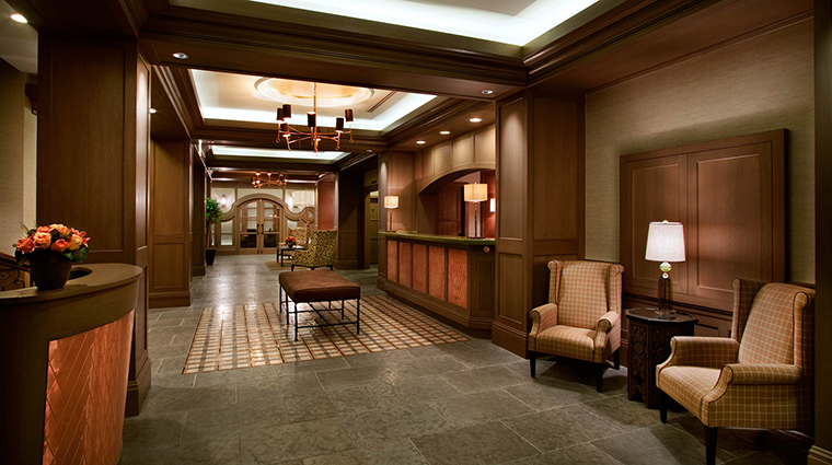 Hotel Chandler Lobby, New York, New York