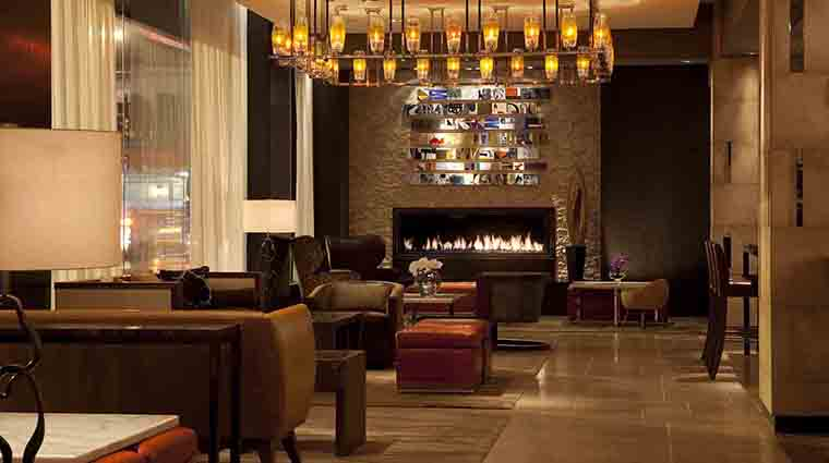 InterContinental New York Times Square Lobby Lounge