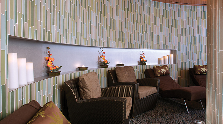 La Rive Spa Relaxation Lounge Seating