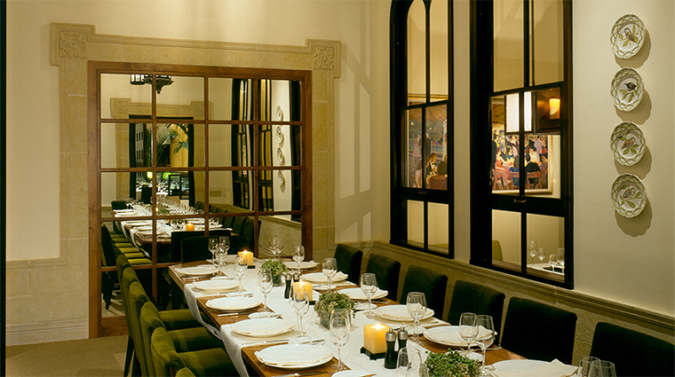 Lacroix at The Rittenhouse Restaurant La Serre Private Dining Room